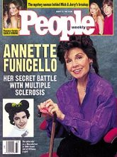 Annette Funicello People's Magazine