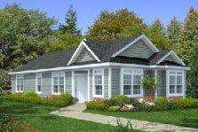 Modular Home - Handicap Accessible Home Plan