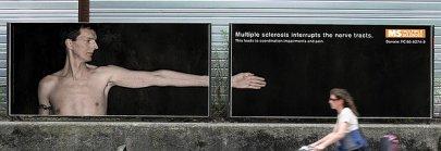Multiple Sclerosis Art photo courtesy of Brett Johnson