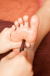 foot reflex - clonus