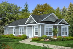 Modular Home - Handicap Accessible Home Plan