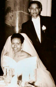 Michelle and Barack Wedding Day