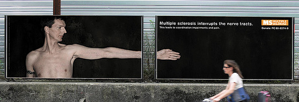 Multiple Sclerosis Art photo courtesy of Brett Johnson (Flickr)