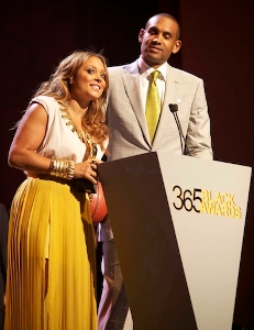 Tamia and Grant Black Awards 2012