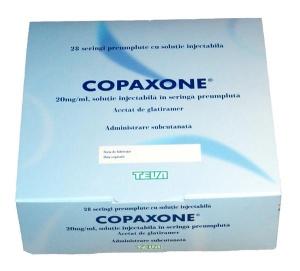 Copaxone Injection Box TEVA