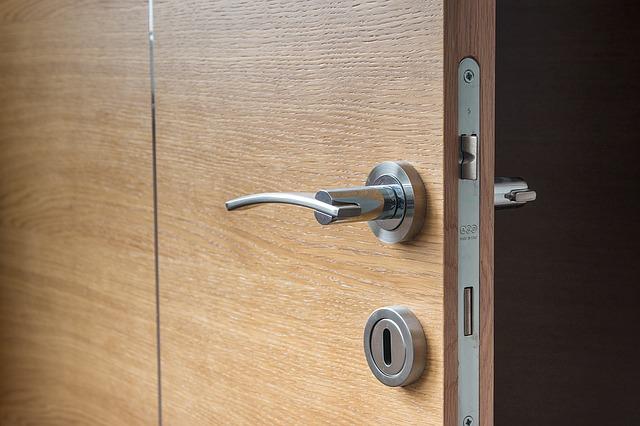 accessible home bathroom door