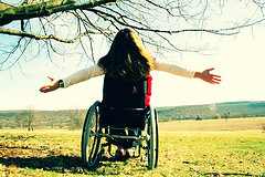Girl in Wheelchair photo courtesy of Bunny and Coco