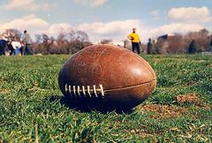 Football photo courtesy of Elvert Barnes (Flickr)