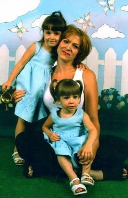 My mom, sister and I at Gymboree a LONG time ago!
