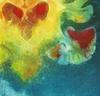 Valentine, solarplate etching based on the artist's MRI
