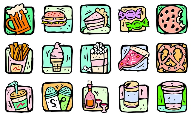 processed junk food