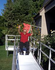 wheelchair grandpa by mateoutah