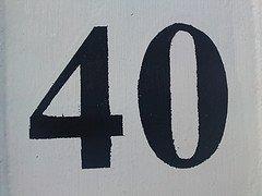 Number 40 photo courtesy of Szczel (Flickr)