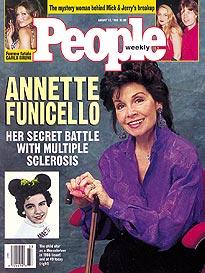 Annette Funicello People's Magazine