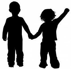 Children Silhouette by Sattva
