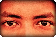 Eyes photo courtesy of Nasrulekram (Flickr)